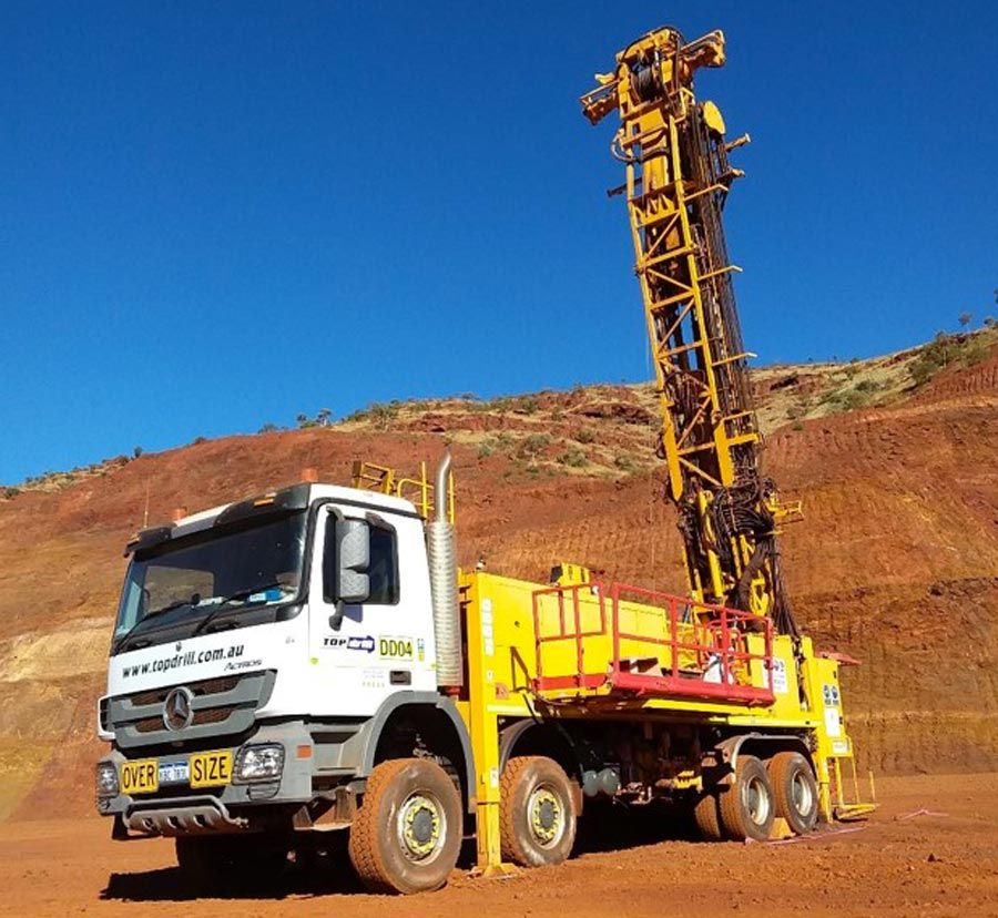 diamond drilling rig