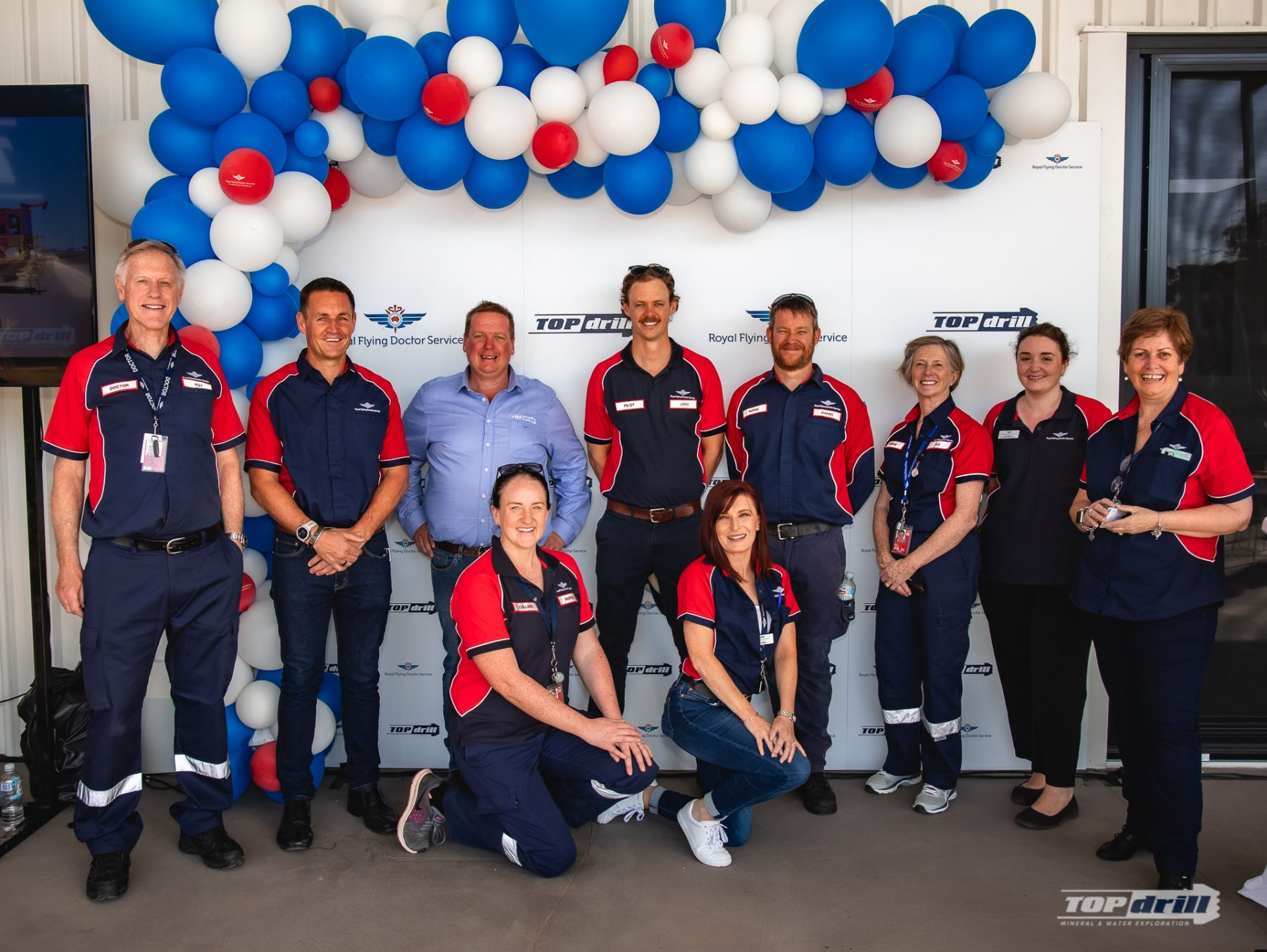 Royal Flying Doctors Service at Topdrill Kalgoorlie